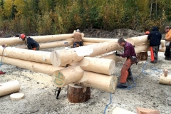 log construction
