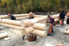log construction