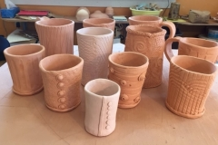 Handbuilt Clay Vessels
