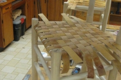 Woven seat