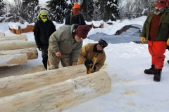 Setting-up-the-log-for-the-cut.