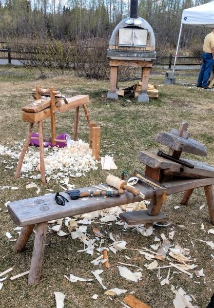Wood-Fest-Shaving-Horses