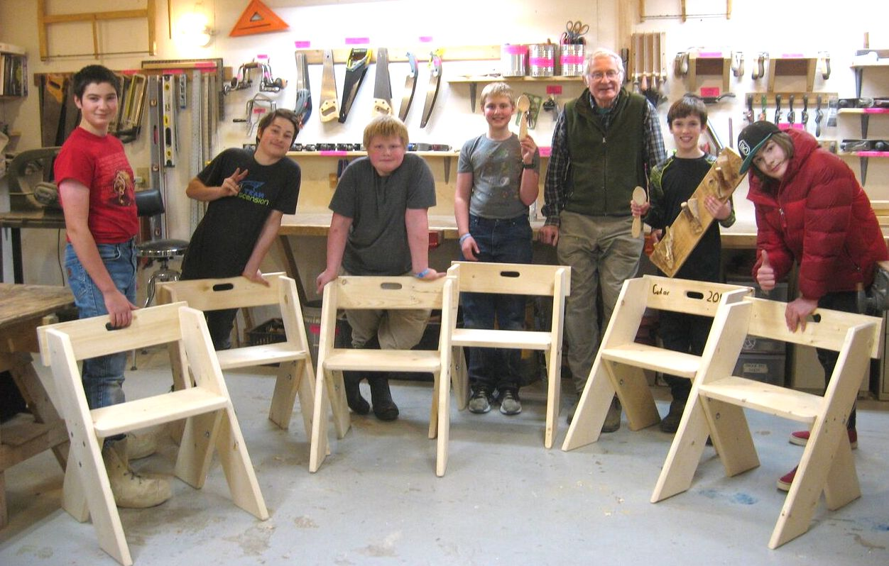 Spring Break Build An Aldo Leopold Chair The Folk School