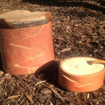 Birch Bark Canisters