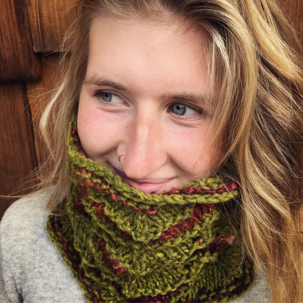 Knit the kit Bridget Cowl