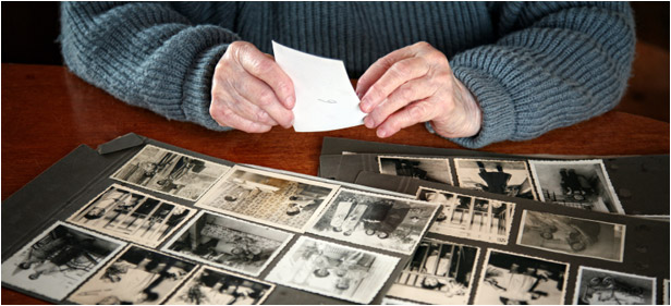Preserving family photos
