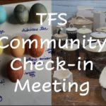 TFS Community Meeting