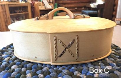 John Manthei Bentwood Box C