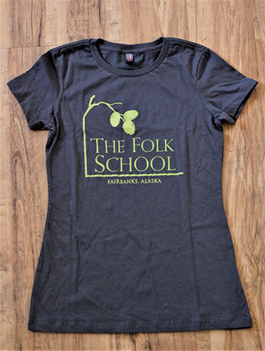 Folk School Tee Shirt Front