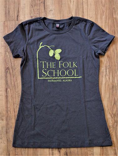 Folk School Tee Shirt Front