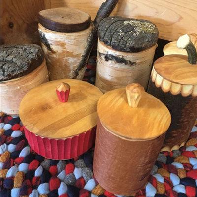 John Manthei Shrink pots