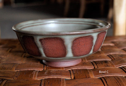 Toni Kaufman Ceramic Bowl C