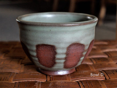 Toni Kaufman Ceramic Bowl D
