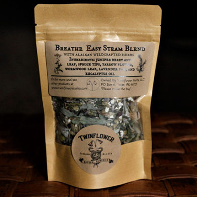 Twinflower Apothecary Breathe Easy Steam Blend Tea