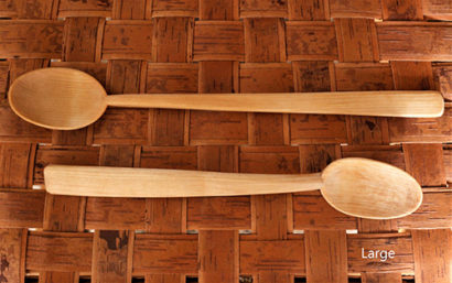 Wesley Hathaway Wooden Spoon Large
