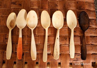 Wesley Hathaway Wooden Spoon Small-Medium
