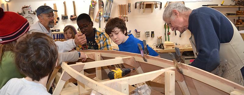 Kids Boat Building Class