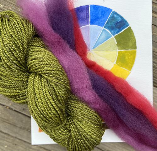 Spinning in Color Fiber Fest