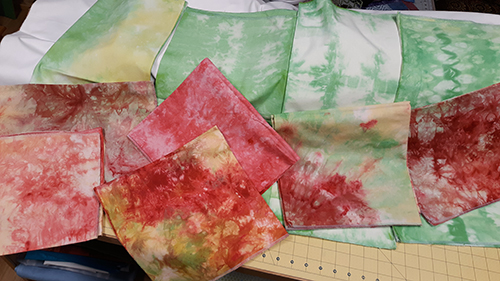 Adventures in Dyeing Fabrics at Home