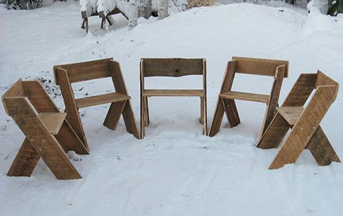 Aldo Leopold chairs