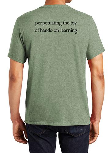 Folk School T-Shirt Back