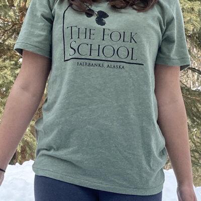 Folk School T-Shirt Front