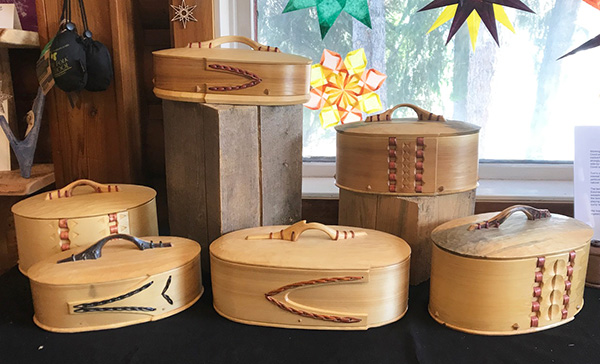 Bentwood Boxes A-F