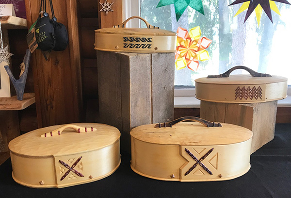 Bentwood Boxes H-M