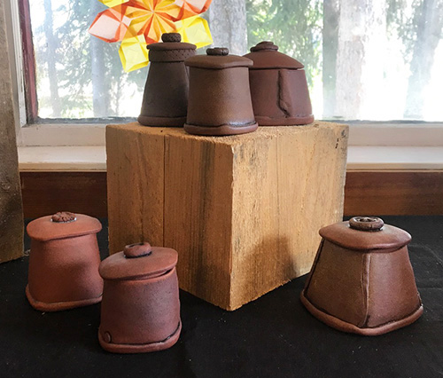 Ceramic Containers A-F