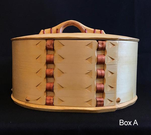 John Manthei Bentwood Box A