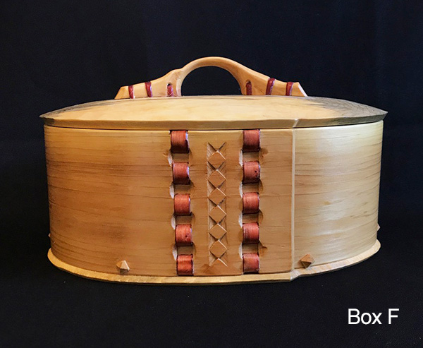 John Manthei Bentwood Box F