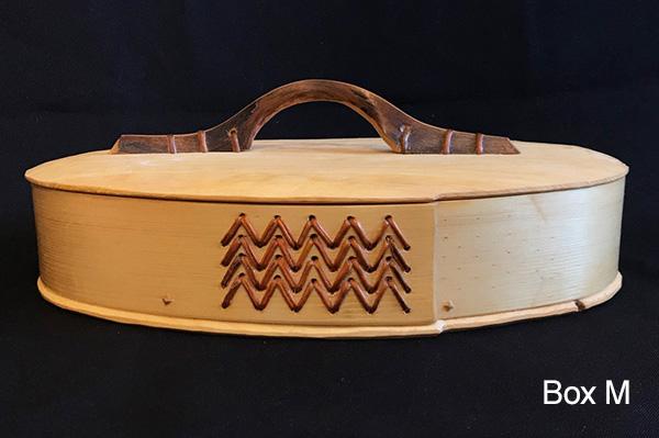 John Manthei Bentwood Box M