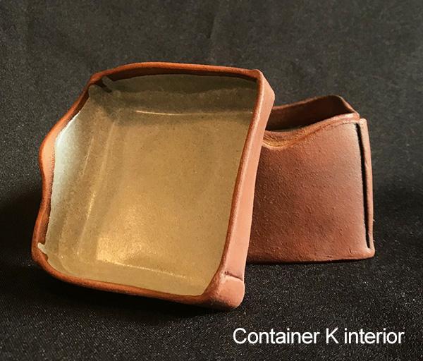 Toni Kaufman Container K open