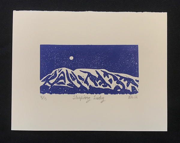 Sleeping Lady Hartman Print