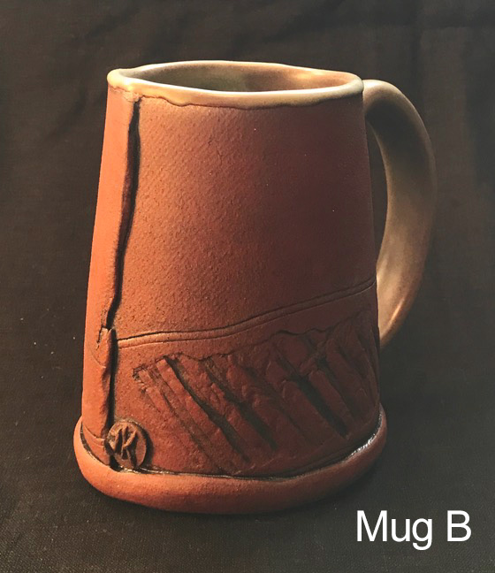 Toni Kaufman Hand Built Mug B