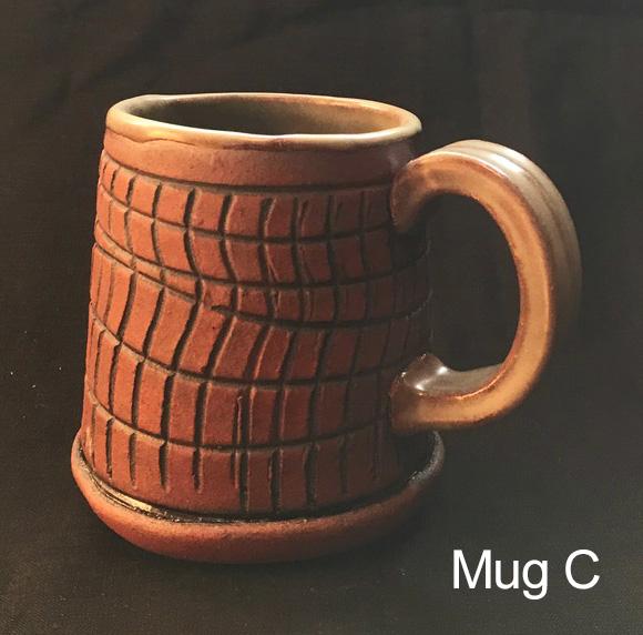 Toni Kaufman Hand Built Mug C