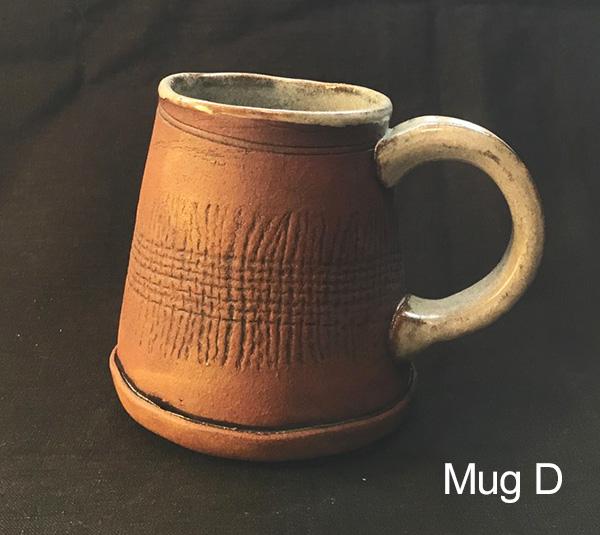 Toni Kaufman Hand Built Mug D
