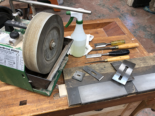 Sharpening Chisels and Plane Irons